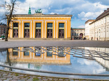 Bertel Thorvaldsen's Square and Thorvaldsens Museum Stock Images
