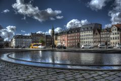 Bertel Thorvaldsens Square images libres de droits