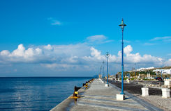 Berth In The Port On The Island Of Mykonos Stock Photography