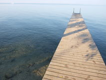 Berth at Lake Garda in Italy Royalty Free Stock Photos