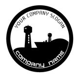 Berth logo Royalty Free Stock Image