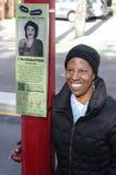 Bertha Clark and Black Strathcona royalty free stock image