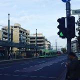 Bertha von suttner Platz a Bonn Fotografia Stock Libera da Diritti