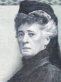 Bertha von Suttner portrait from Austrian money Stock Photo