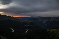 Berthoud passerande - Colorado Arkivbild