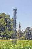 Bertoia& x27; s, das Skulptur klingt Lizenzfreie Stockfotografie