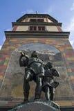 Berätta monumentet i Altdorf Arkivfoto
