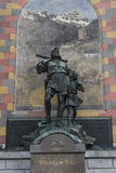 Berätta monumentet i Altdorf Arkivfoton