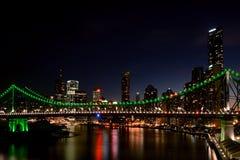 Berättelsebro, Brisbane Australien Royaltyfria Foton