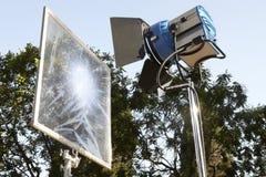 Berufsfilmlichttechnische ausrüstung Lizenzfreies Stockbild
