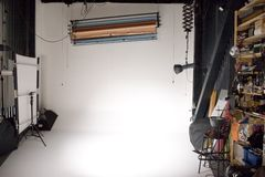 Berufsfotostudio Stockbild