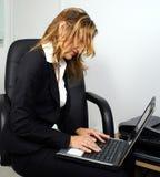 Berufsfrau Stockfoto