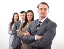 Berufsgeschäftsteam Foto im vollen Wachstum Stockfoto