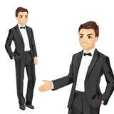 Berufsgeschäftsmann In Suit Lizenzfreie Stockfotografie