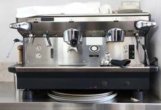 Berufskaffeemaschine Stockbild