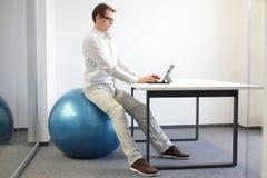 Berufskrankheitsverhinderung des Büros Stockbilder