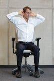 Berufskrankheitsverhinderung des Büros Stockfotos