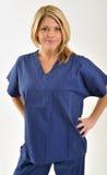 Berufslächeln des weiblichen Gesundheitswesens Lizenzfreie Stockfotografie