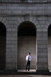 Berufsmann, der 25 bearbeitet Lizenzfreies Stockfoto