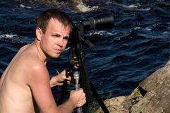 Berufsphotograph Lizenzfreies Stockfoto