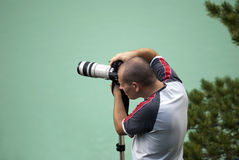 Berufsphotograph Lizenzfreie Stockbilder