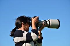 Berufsphotograph lizenzfreie stockfotos