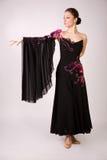 Berufstänzer im schönen Kleid Lizenzfreie Stockfotografie
