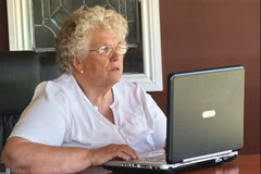 Berufstätige Frau lizenzfreie stockfotografie