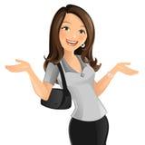 Berufstätige Mutter Lizenzfreie Abbildung
