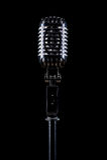 Berufsweinlesemikrofon Stockbild