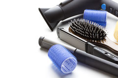 Berufswerkzeuge des Friseurs Lizenzfreies Stockfoto