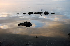 Beruhigen Sie Ozean lizenzfreie stockfotografie