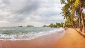 Beruwala, Sri Lanka. Sunset at Beach near Beruwala, Sri Lanka royalty free stock image