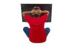 Überwachender Fernsehapparat Lizenzfreie Stockfotografie