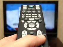 Überwachender Fernsehapparat Stockfoto