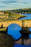 Berwick Bridge, also known as the Old Bridge, Berwick-upon-Tweed, Northumberland, England, UK Stock Photo