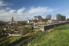 Berwick em cima da mistura de lã, Northumberland Fotografia de Stock