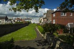 Berwick em cima da mistura de lã, Northumberland Fotografia de Stock Royalty Free