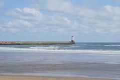berwick latarni morskiej mola tweed Zdjęcia Royalty Free
