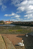 Berwick sopra tweed ed il tweed del fiume Fotografia Stock