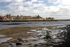 Berwick sopra tweed ed il tweed del fiume Immagine Stock