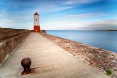 Berwick sur le phare de tweed Images stock
