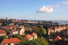 Berwick upon Tweed. The northern English town of Berwick upon Tweed, overlooking the North Sea in Northumberland Royalty Free Stock Photography