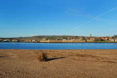 Berwick upon Tweed in mid winter Stock Image