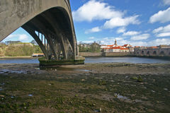 Berwick upon Tweed and the River Tweed Royalty Free Stock Images