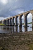 Berwick upon Tweed Royal Border Bridge Stock Image