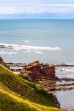 Berwickshire Coastal Path, Scotland Stock Photo