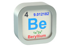 Beryllium Stock Photo