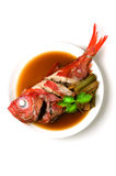 Beryx in soy sauce Stock Photos