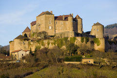 Berze-le-Chatel Royalty Free Stock Photos